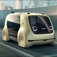 פולסווגן חושפת את הרכב האוטונומי החדש שלה