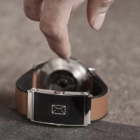 הרצועה החכמה של השעון החכם Montblanc Twin משדרגת את הטלפון החכם שלכם